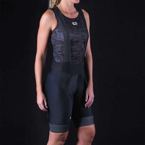 Giordana 2020 Women's FR-C Pro Reflective Cycling Bib Shorts - GICS20-WBIB-FRCP-BKRF