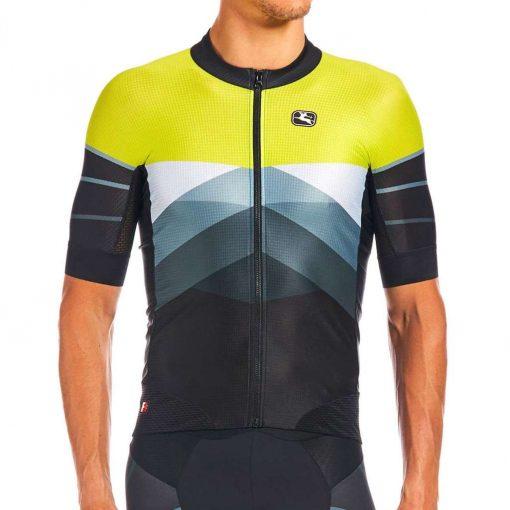 Giordana 2020 Men's FR-C Pro Tri Short Sleeve Cycling Top - GICS20-SSJY-FRTR