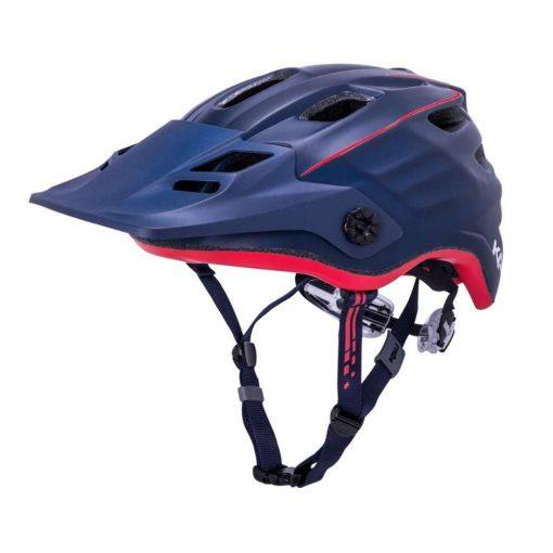 Kali Protectives Adult Maya 2.0 MTB Cycling Helmet - Revolt Matte Navy/Red - 022041912
