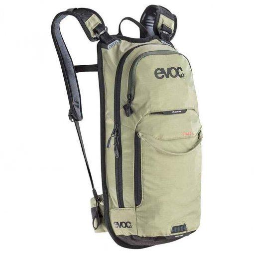 Evoc Stage 6L Technical Performance + 2L Backpack - Light Olive - 100205322