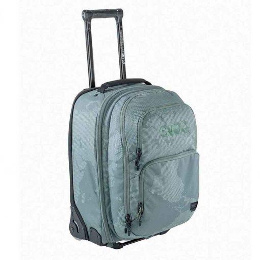 EVOC, Terminal bag 40L + 20L, Travel bag with detachable backpack, Olive - 401216307