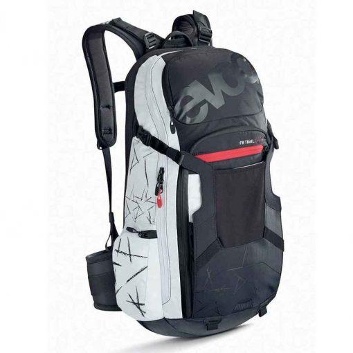 EVOC, FR Trail Unlimited, Protector backpack, 20L, Black/White, ML - 100103105-M/L