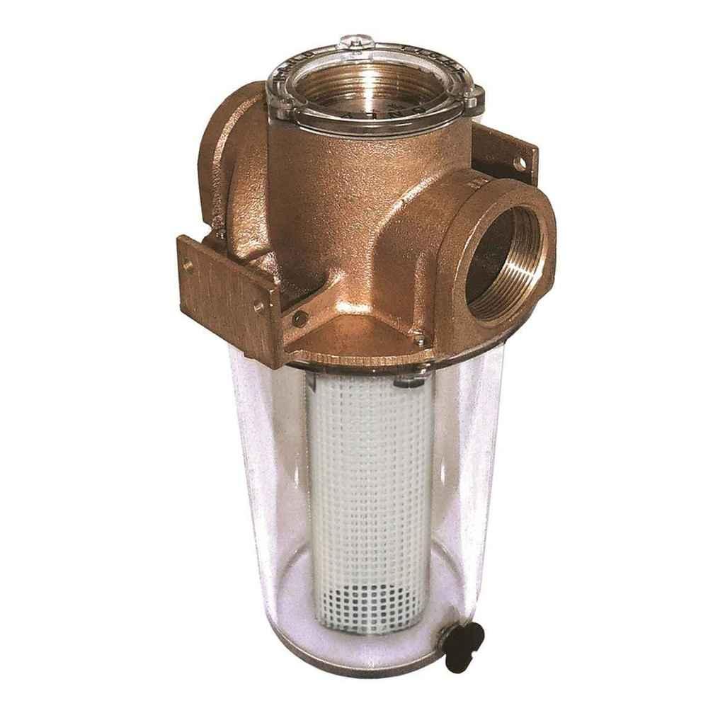 "Groco Arg-1250 Series 1 1/4"" Raw Water Strainer - ARG-1250-P"