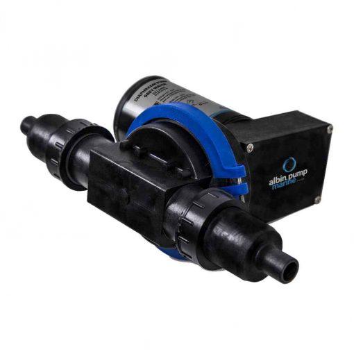 Albin Pump Waste Water Diaphragm Pump 6G 12V - 03-01-001