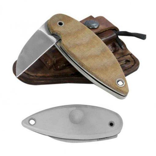 "Condor Tool & Knife Condor Primitive Bush 6.25"" Folder - Micarta - Plaidedge"