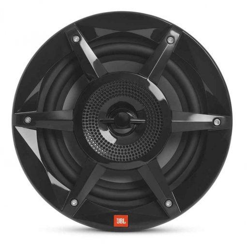 JBL 8 Inch Coaxial Marine RGB Speakers Black Stadium Series - STADIUMMB8030AM