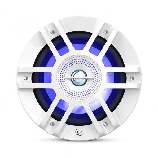 Infinity 6.5 Inch Coaxial Marine RGB Speakers White Kappa - KAPPA6120M