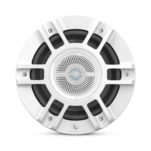 Infinity 8 Inch Coaxial Marine RGB Speakers White Kappa Series - KAPPA8130M