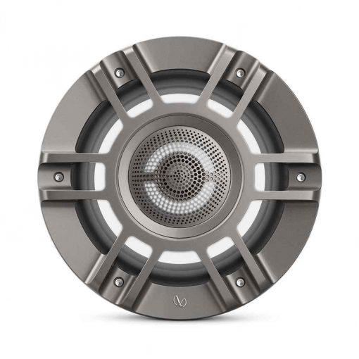 Infinity 8 Inch Coaxial Marine RGB Speakers Titanium Kappa Series - KAPPA8135M