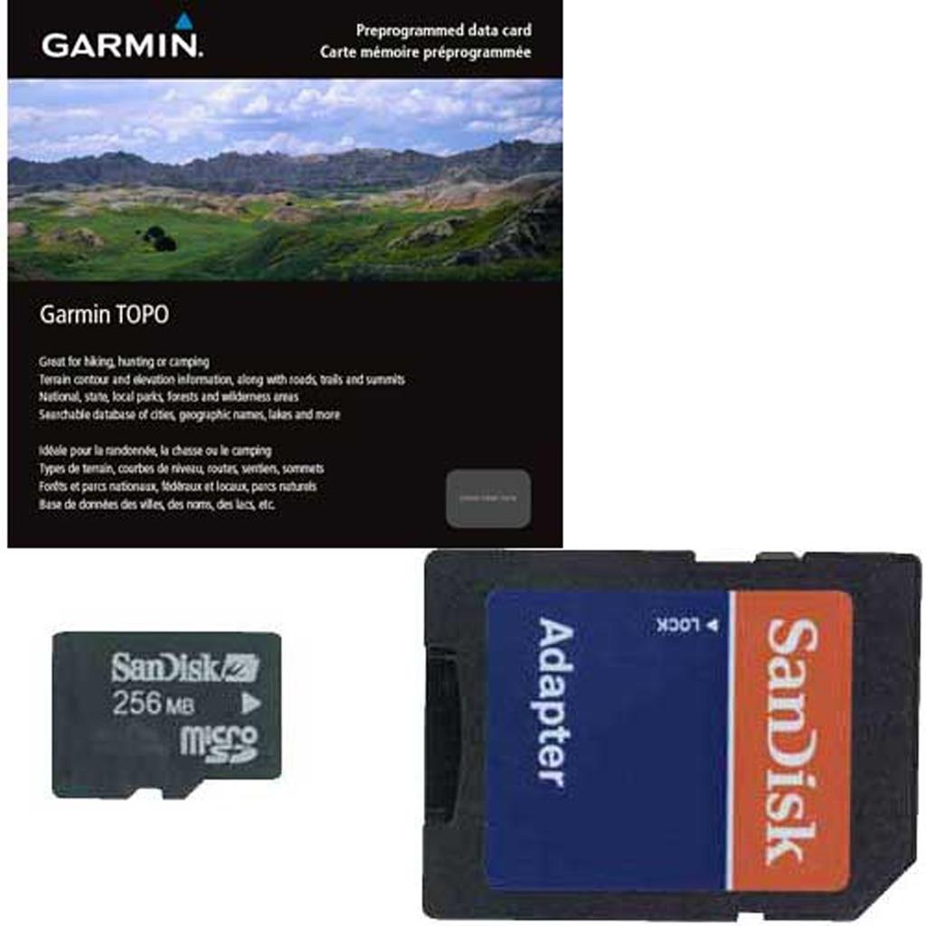 Garmin Topo Canada Central Region 5 Microsd/Sd Card - 010-C1013-00