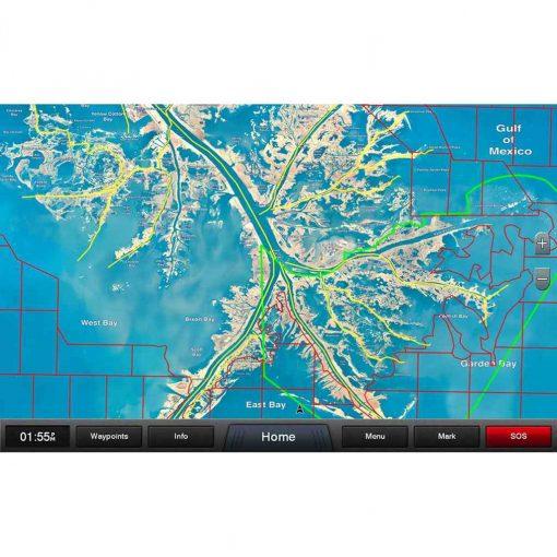 Garmin Standard Mapping Louisiana One Premium - 010-C1163-00