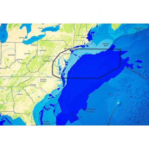 C-Map Reveal Rhode Island to Virginia , Block Island RI - M-NA-Y641-MS