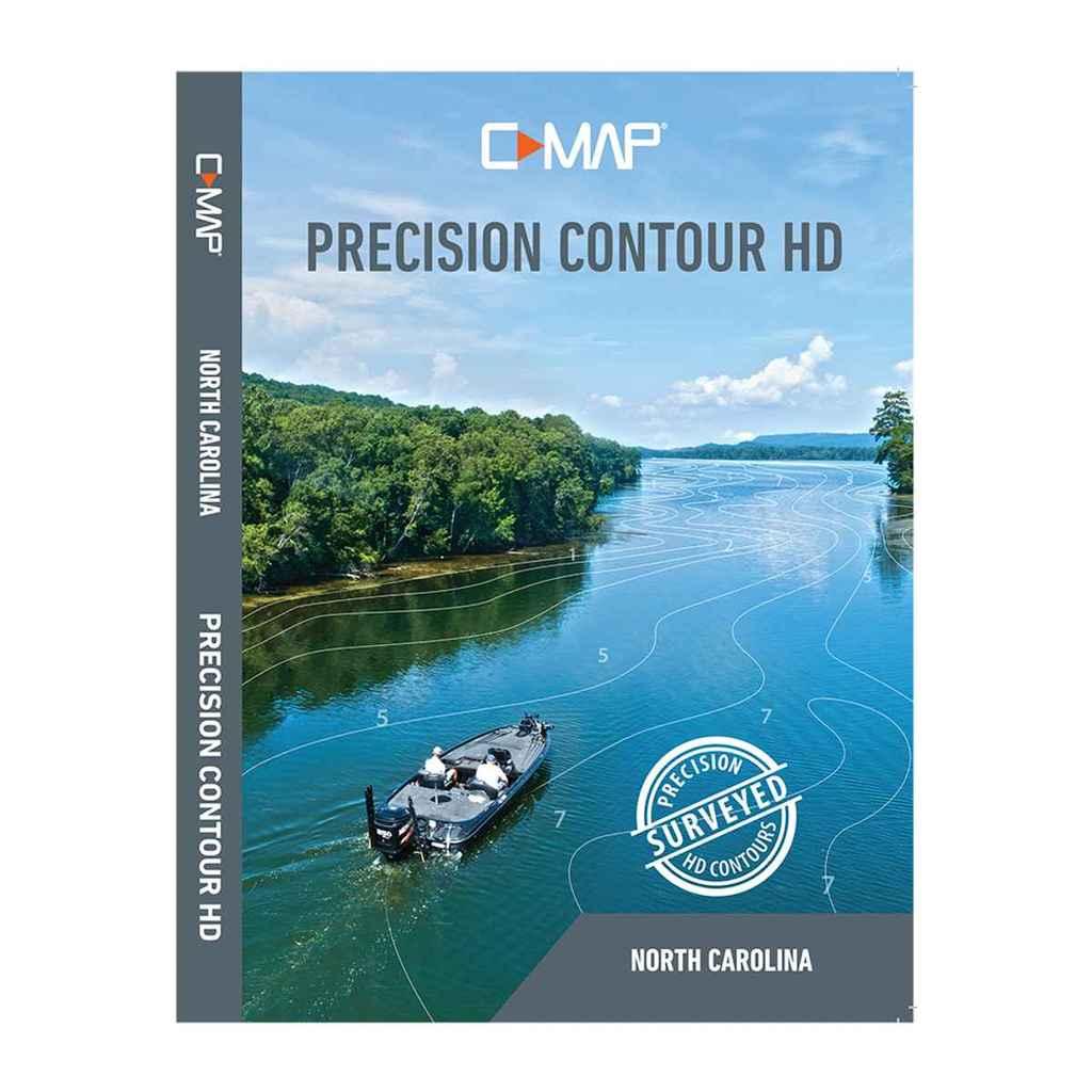 Lowrance Cmap Precision Contour HD North Carolina - M-NA-Y704-MS