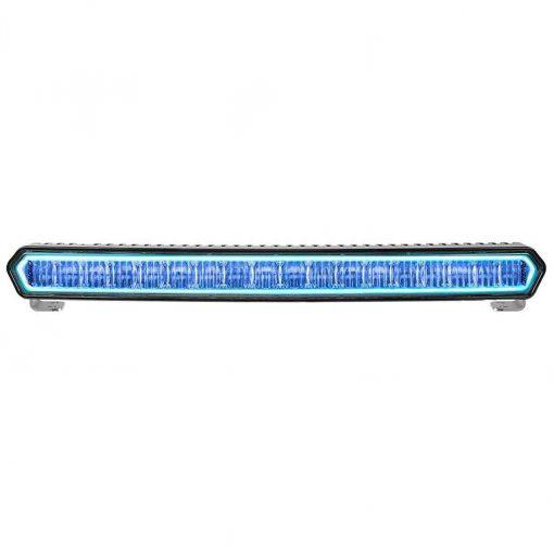 Rigid Industries Sr-L Series 20 Inch Lightbar - Black with Blue - 63001