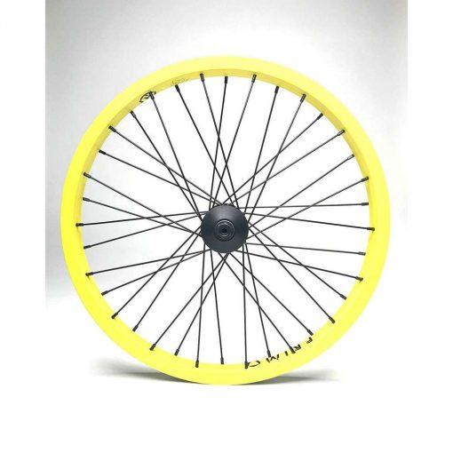 Primo VS Balance Front Bicycle Wheel - Yellow/Black - 90-PR110Y