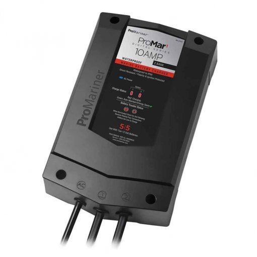 Pro Mariner Promar 1 Ds Digital 10 AMP 2 Bank Charger - 31510