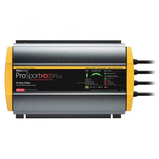 Pro Mariner Prosporthd 20 Gen 4 20 AMP 3 Bank Battery Charger - 44021