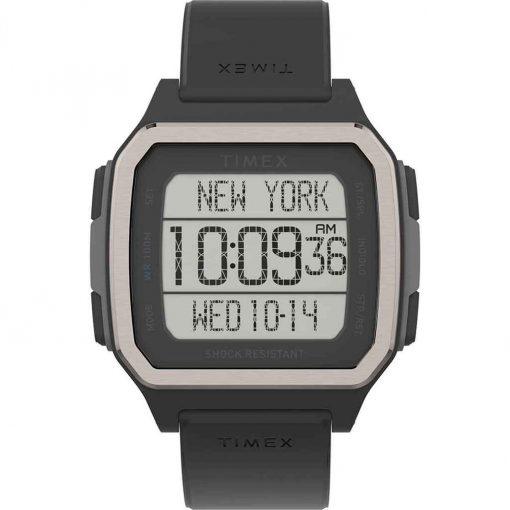 Timex Command Urban 47mm - Black Case with Black Strap - TW5M29000JV