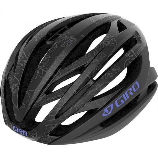 Giro Adult Seyen MIPS Road Cycling Helmet - Matte Black Floral - 711304