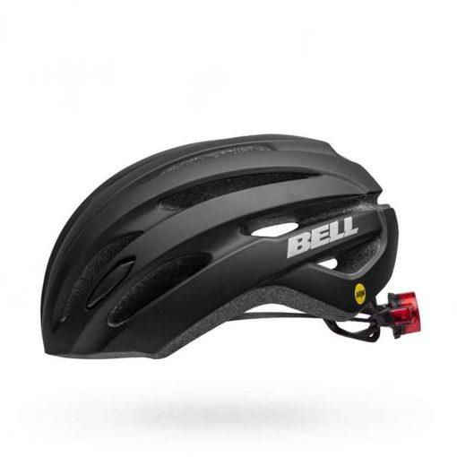 Bell Women's Avenue MIPS LED Road Bike Helmet - Matte/Gloss Black - 7116401