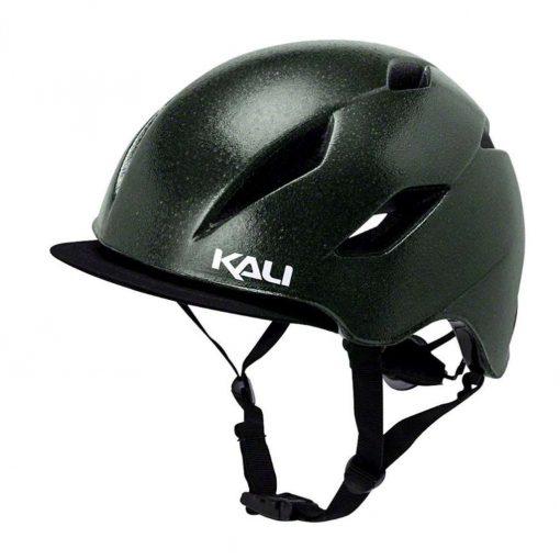 Kali Protectives Adult Danu Commuter Helmet - Solid Reflective Green - 025041811