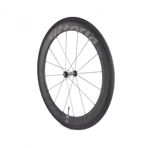 Vittoria Qurano 60 Carbon Tubular Road Bicycle Wheelset