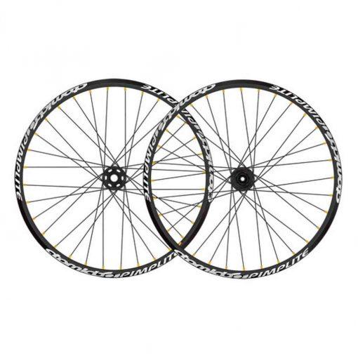 "Atomlab Pimplite 26"" front wheel, 20x110 32h - black - 1WHL570B"