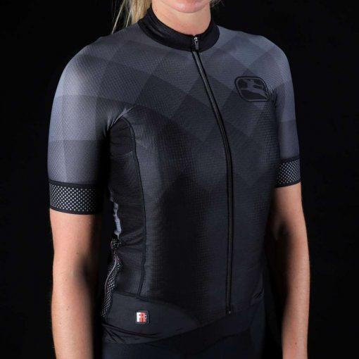 Giordana 2020 Women's FR-C Pro Reflective Short Sleeve Cycling Jersey - GICS20-WSSJ-FRCP-BKRF
