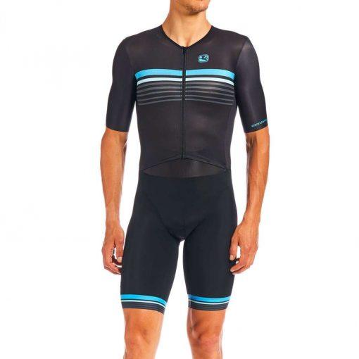 Giordana 2020 Men's Vero Pro Tri Short Sleeve Cycling Doppio Suit - GICS20-SSDS-VETR