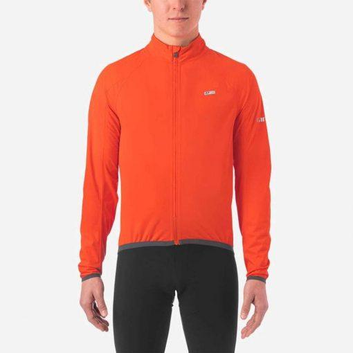 Giro Men's Chrono Expert Rain Cycling Jacket - Vermillion - 71069