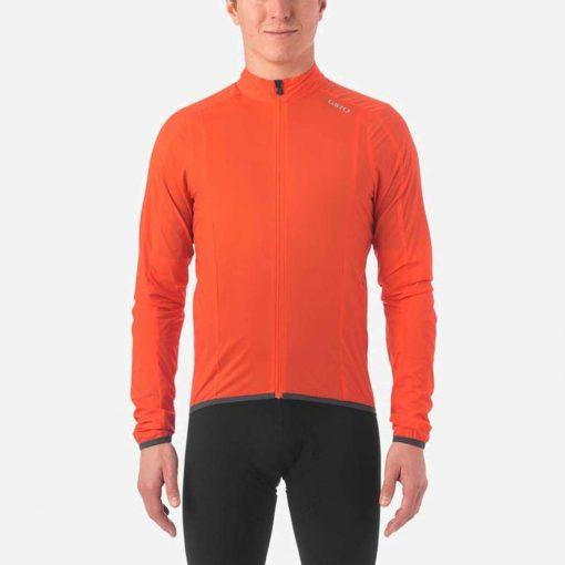 Giro Men's Chrono Expert Wind Cycling Jacket - Vermillion - 710699