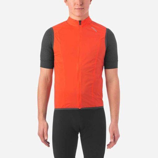 Giro Men's Chrono Expert Wind Cycling Vest - Vermillion - 710700