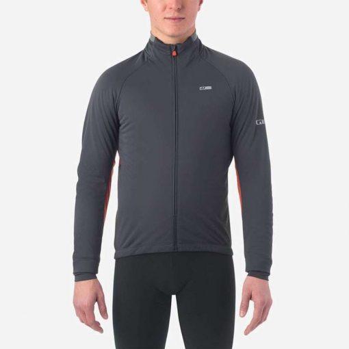 Giro Men's Chrono Pro Alpha Cycling Jacket - Vermillion - 71069