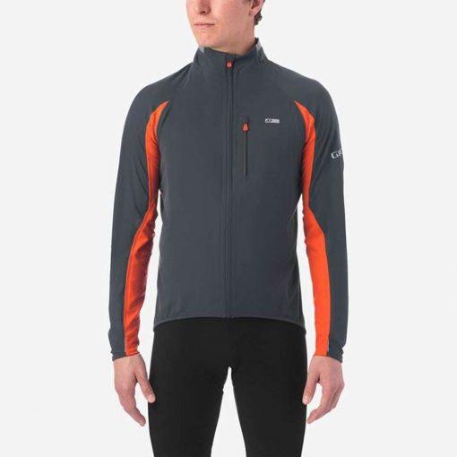 Giro Men's Chrono Pro NeoShell Cycling Jacket - Vermillion - 71069