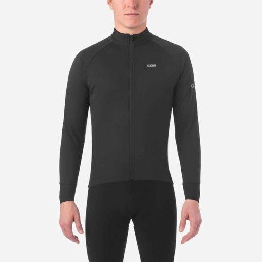 Giro Men's Chrono Pro Windbloc Long Sleeve Cycling Jersey - Black - 71070