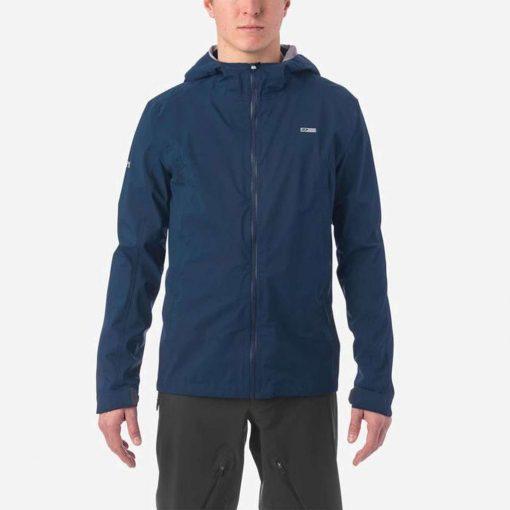 Giro Men's Havoc H2O Cycling Jacket - Midnight Blue - 71069