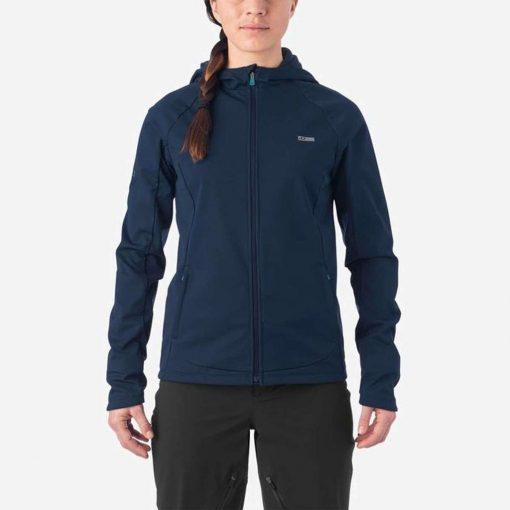 Giro Women's Ambient Cycling Jacket - Midnight Blue - 71067