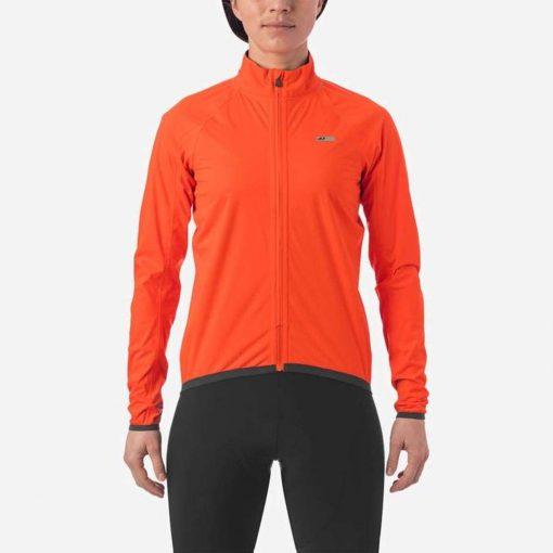 Giro Women's Chrono Expert Rain Jacket - Vermillion - 71069
