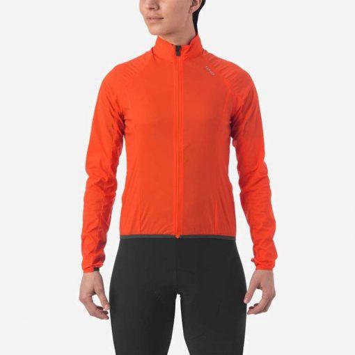 Giro Women's Chrono Expert Wind Jacket - Vermillion - 71070
