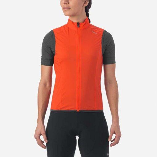Giro Women's Chrono Expert Wind Vest - Vermillion - 710