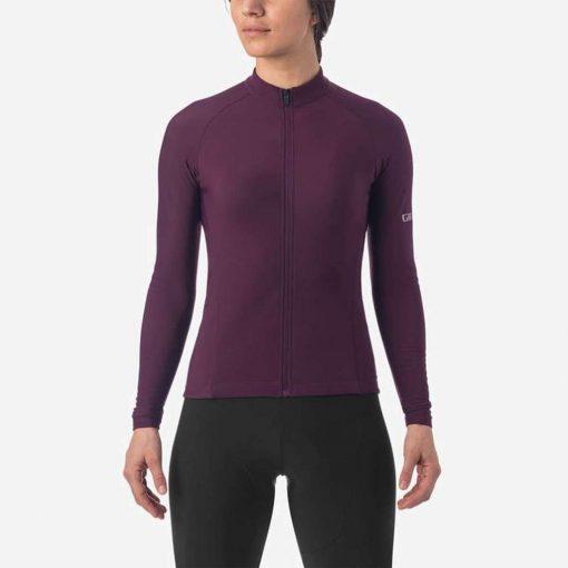 Giro Women's Chrono Thermal Long Sleeve Cycling Jersey - Rhone - 710794