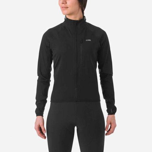 Giro Women's Chrono Pro NeoShell Cycling Jacket - Black - 710696
