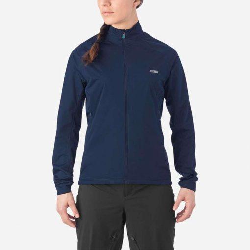 Giro Women's Stow H2O Cycling Jacket - Midnight Blue - 710738