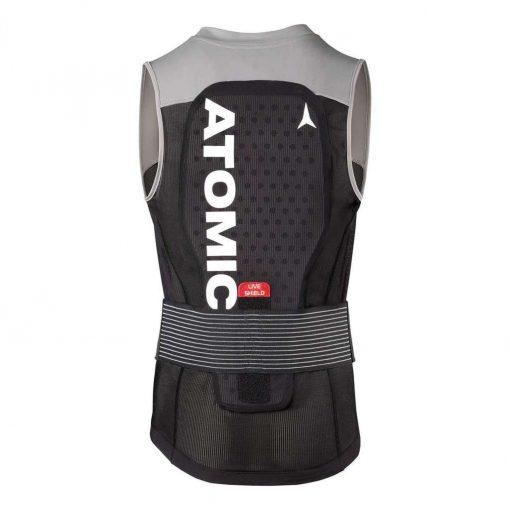 Atomic Live Shield Vest Back Protector - Black/Grey - AN5205016