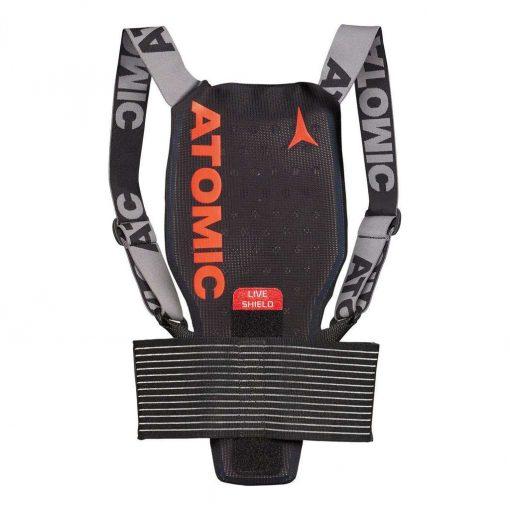 Atomic Kid's Live Shield JR Back Protector - Black - AN5205024