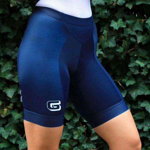 "Giordana x Knowlita Women's ""G"" Navy Vero Pro Cycling Shorts - GICS19-WSHT-KNOW-GINA"