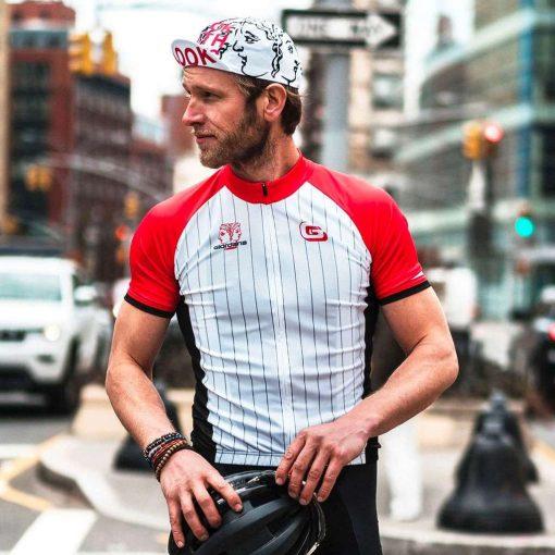 Giordana x Knowlita Men's LOOK BOTH WAYS Vero Pro Fit Short Sleeve Cycling Jersey - GICS19-SSJY-KNOW-LOOK