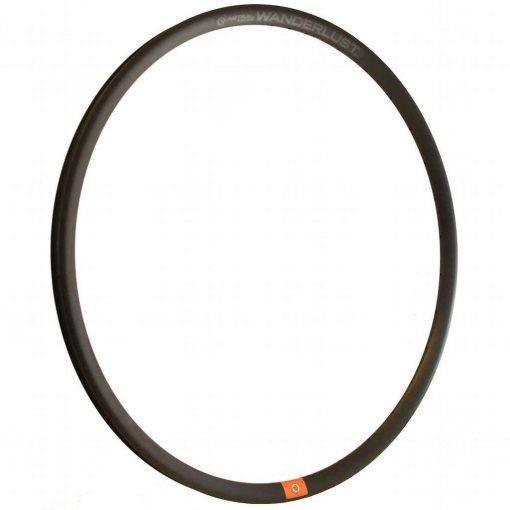 Astral Wanderlust Disc 700c Rim - 700c 22/25mm 28h *595.5mm Black 450g - 48060-28H