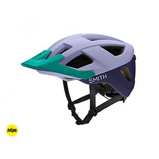 Smith Men's Session MIPS MTB Cycling Helmet - Matte Iris/Indigo/Jade - E0073103X