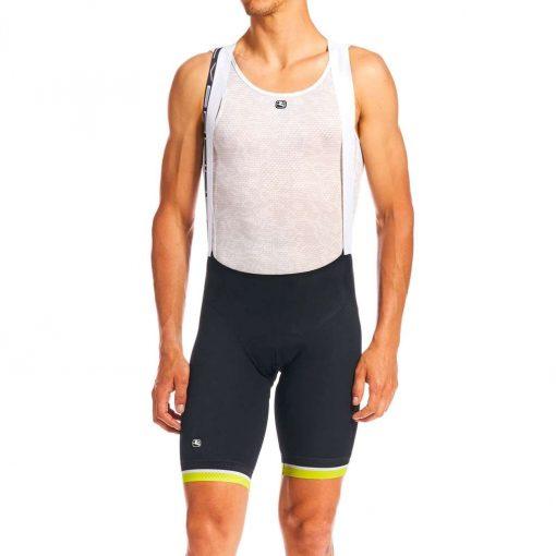 Giordana 2020 Men's Silverline Cycling Bib Shorts - GICS20-BIBS-SILV-LIME